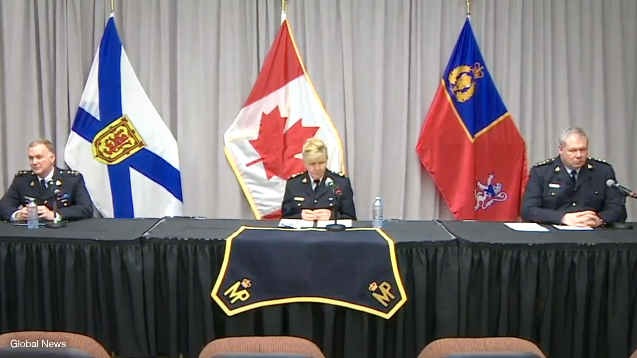 RCMP confirm: Nova Scotia shooter used illegally obtained guns