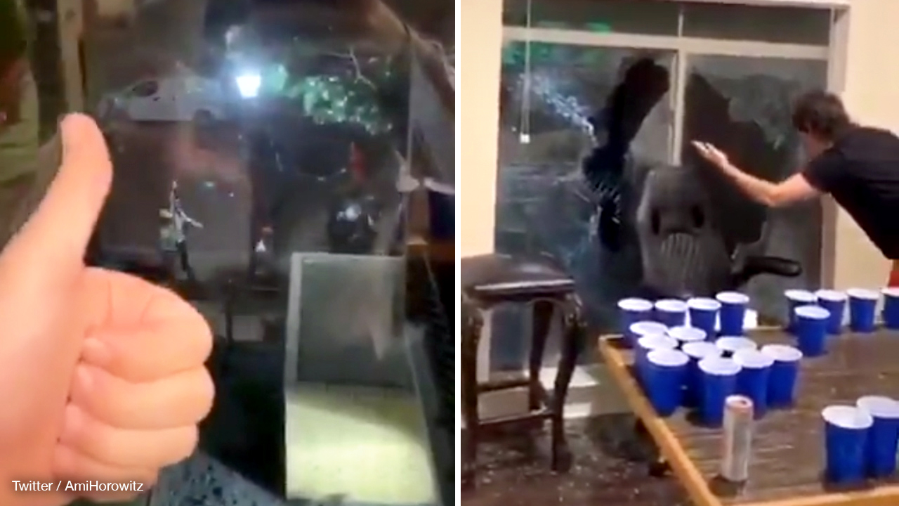 Beer pong gone wrong: Rioters brick home of iPhone-wielding supporters