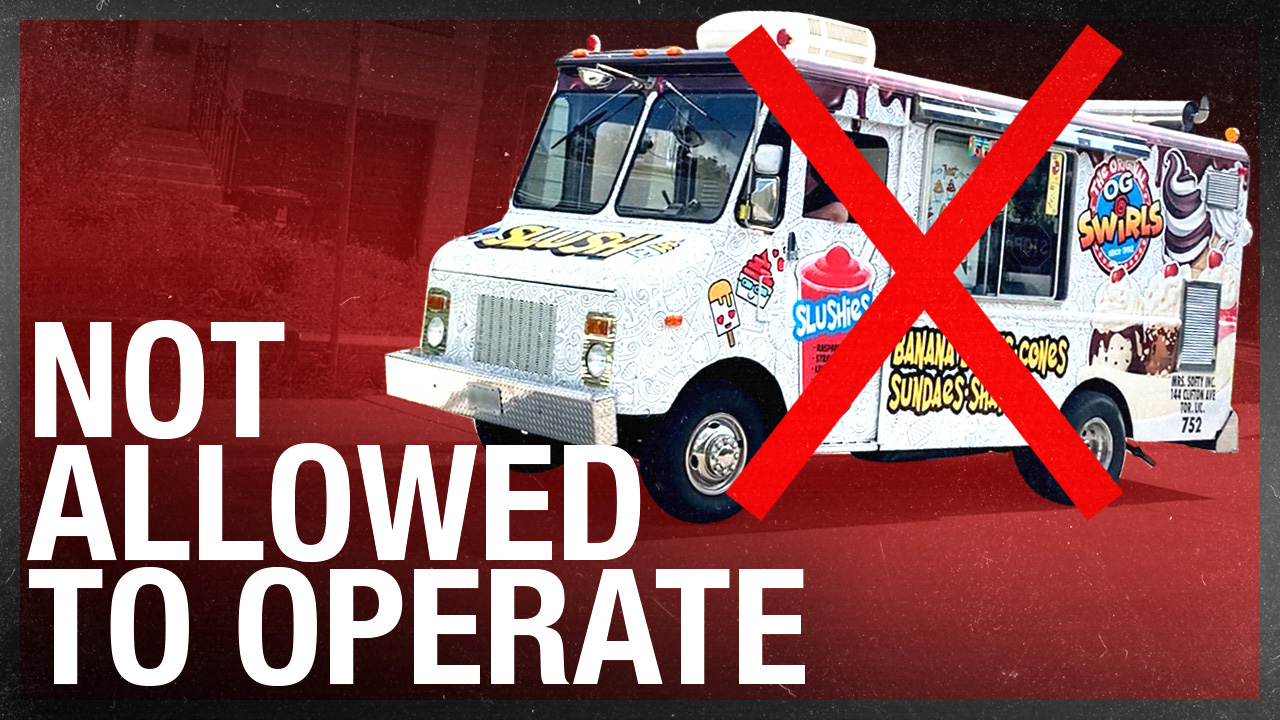"Toronto ticketed the ice cream man! Is a food service truck ""curbside pickup"" or not?"
