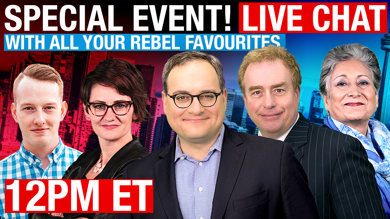 Special Event! Live Chat with ALL your Rebel News favourites