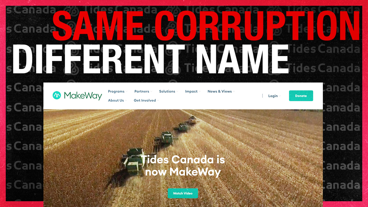 "Tides Canada rebrands to MakeWay, citing public ""misinformation"" about anti-oil group"