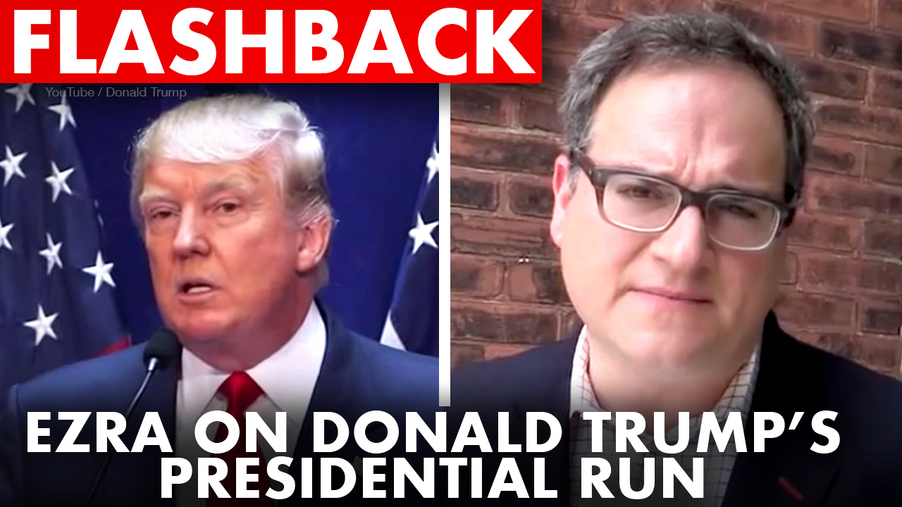 FLASHBACK: Ezra Levant's reaction to Trump's 2015 campaign announcement