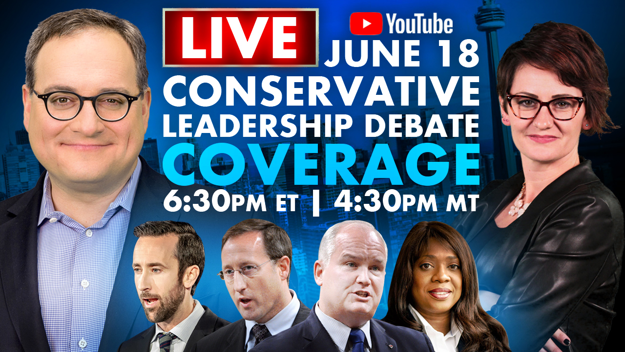 Rebel News LIVE! Conservative Party Leadership Debate