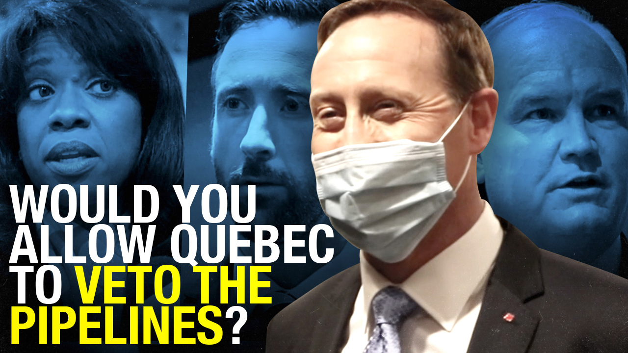 Peter MacKay would give Quebec pipeline veto; all candidates weigh in
