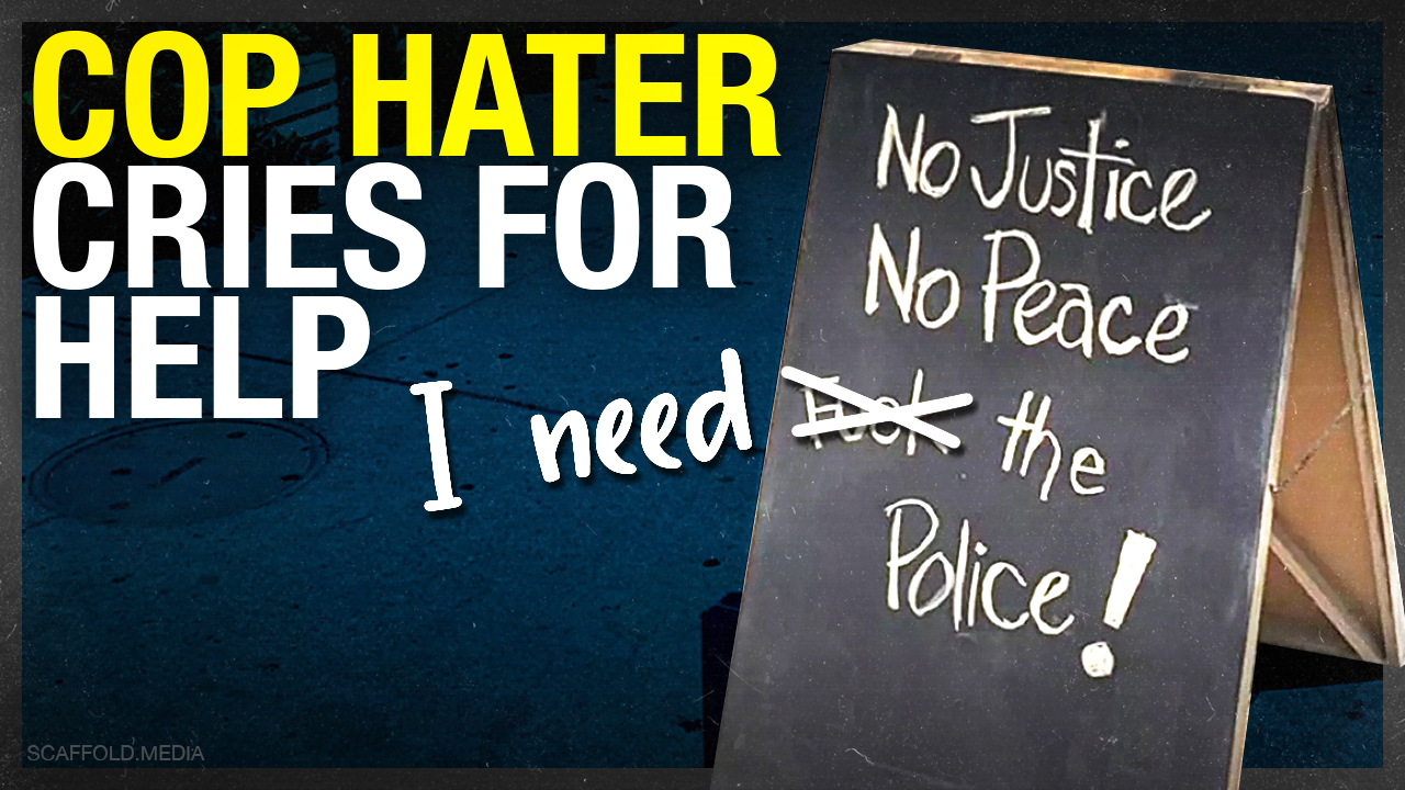 Anti-police cafe signage prompts backlash; owner calls police for help