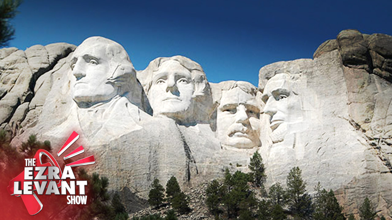 Tear down Teddy Roosevelt? Joel Pollak with Ezra Levant