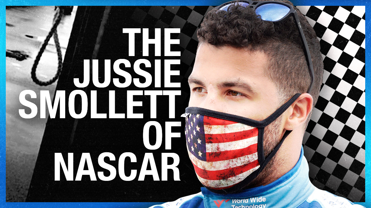 NASCAR NOOSE: CNN runs with Bubba Wallace's fake hate crime