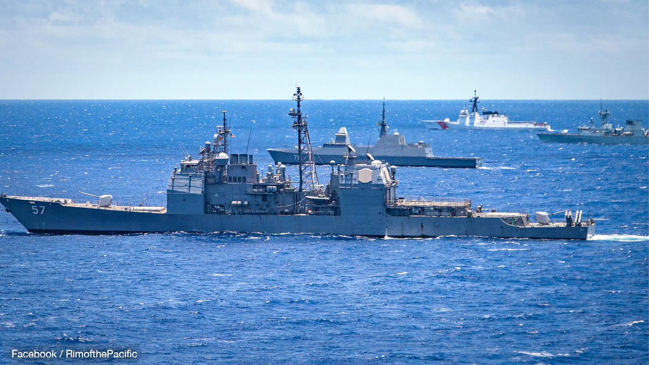 US may take over for China at naval war games with Taiwan
