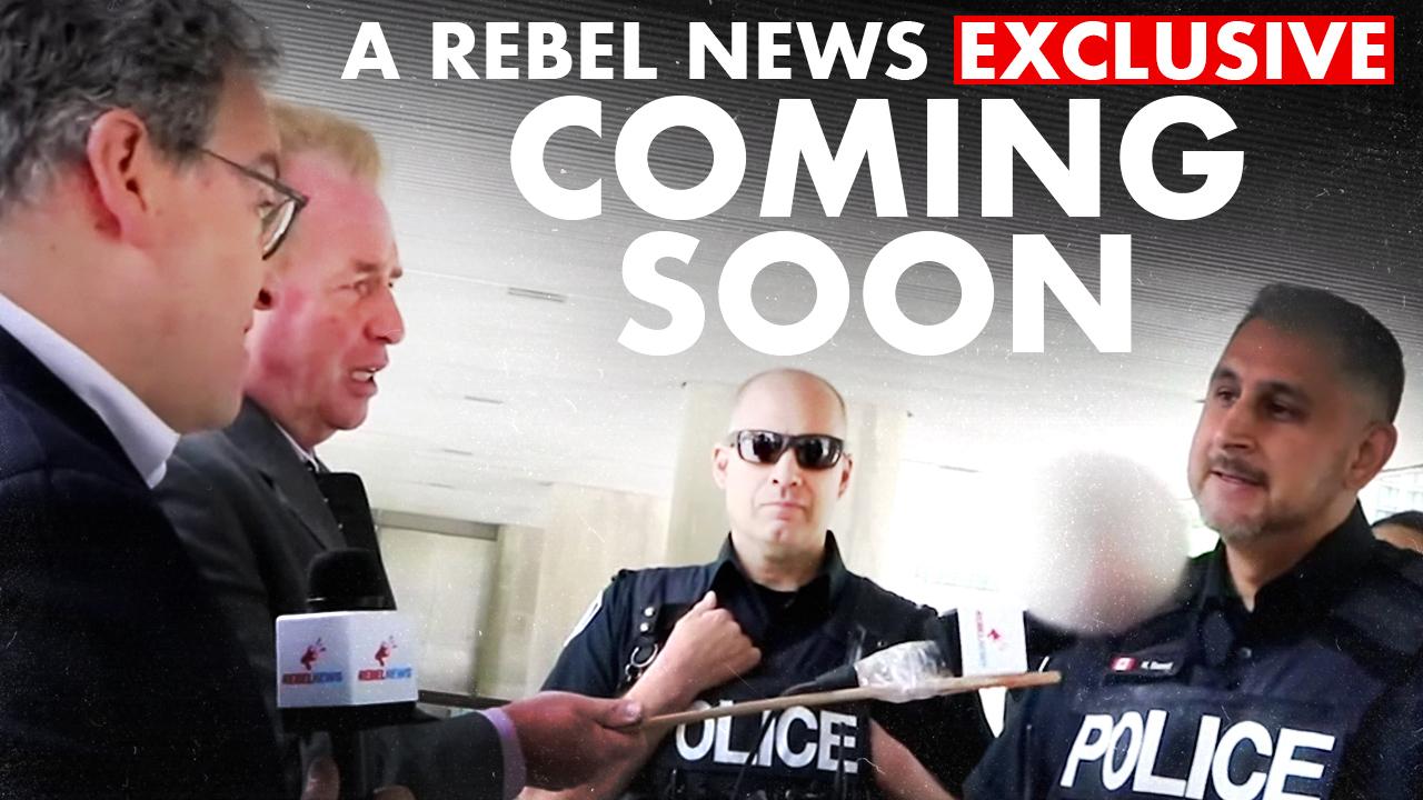 SNEAK PEEK: Rebel News TAKES ON Antifa at Toronto's City Hall
