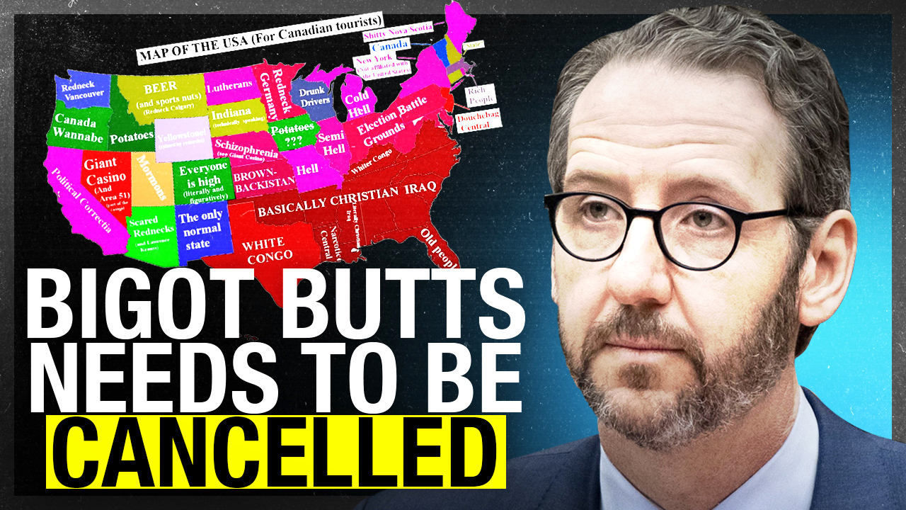 Trudeau BFF Gerry Butts tweets anti-Christian, racist map of the USA (so we contacted his boss)