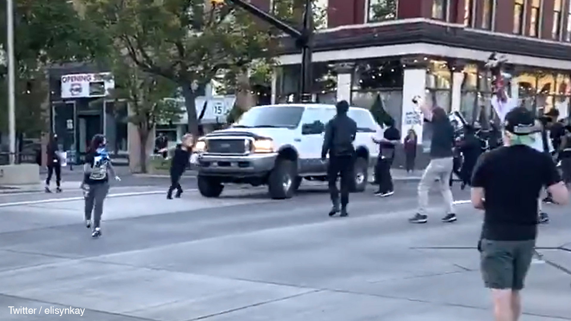 Shooting at Black Lives Matter protest in Provo, Utah