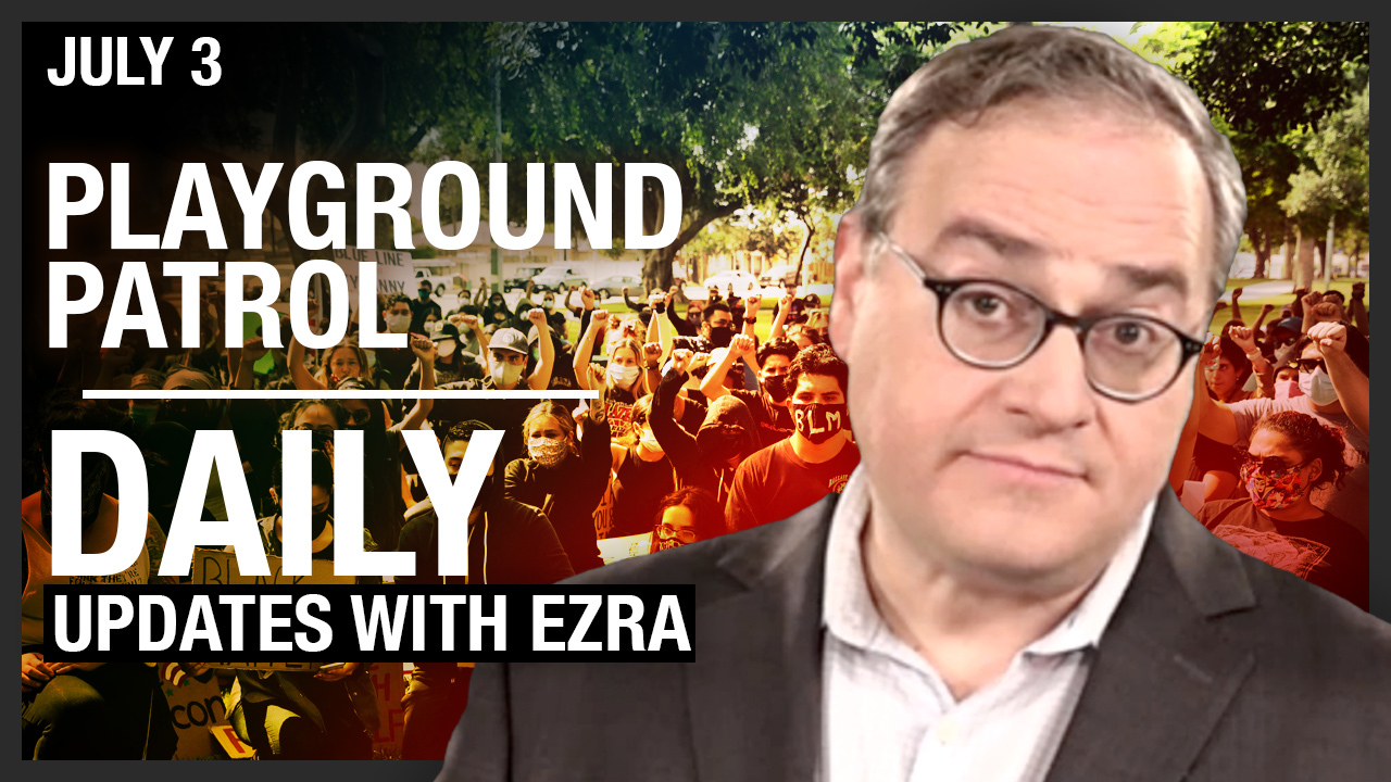 LIVE ON YOUTUBE! Ezra Levant