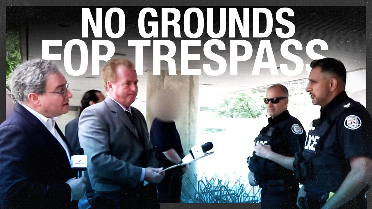 RAW: Ezra Levant's FULL negotiation with Toronto Police during Antifa showdown