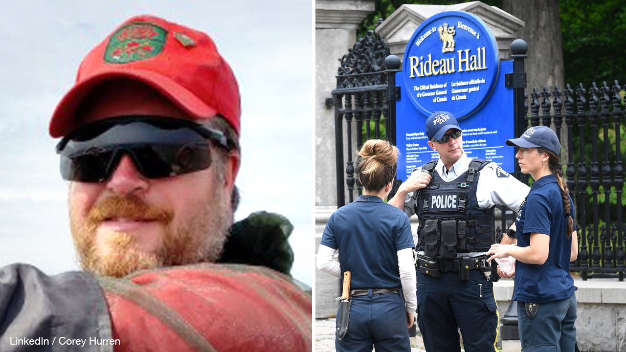 RCMP charges CAF member in Rideau Hall incident