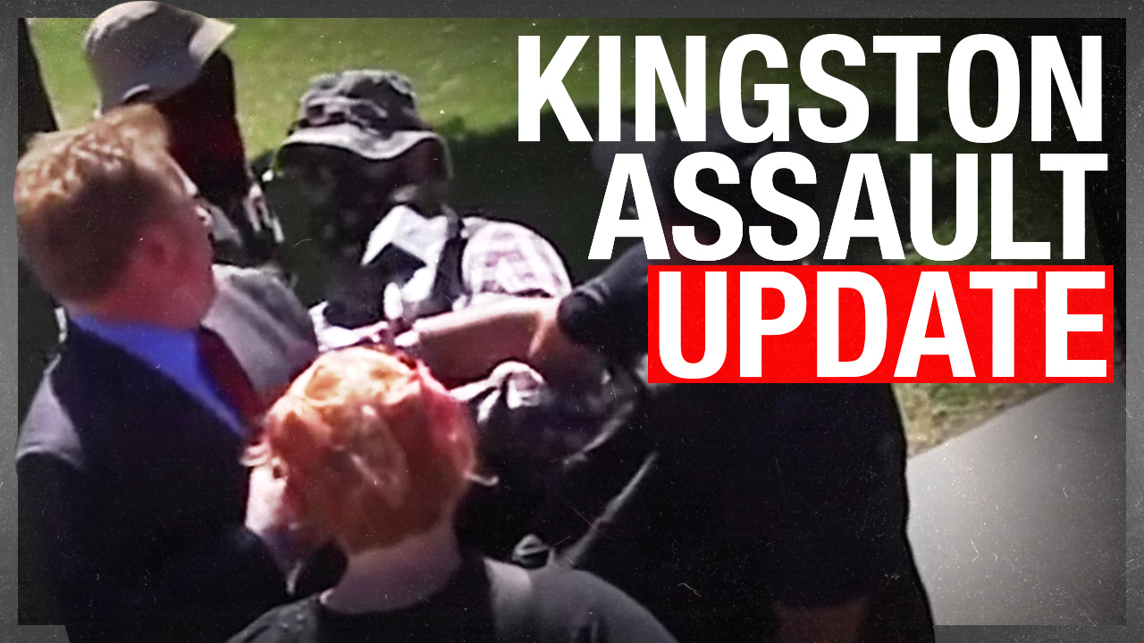Antifa assault UPDATE: Why weren't Kingston police at the statue protest?