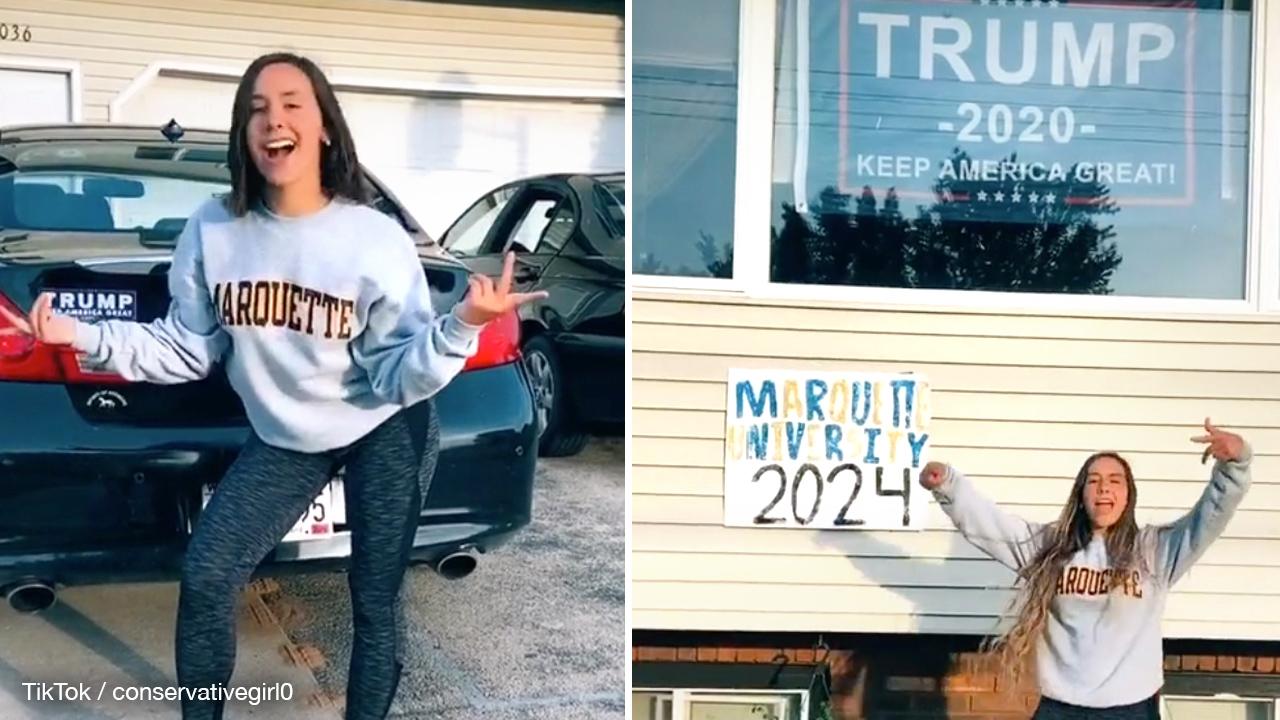 US university threatens to deny student over pro-Trump TikTok