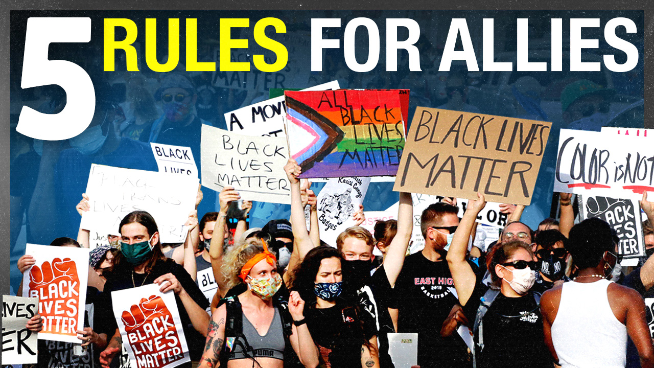 Top 5 rules for white people at Black Lives Matter rallies
