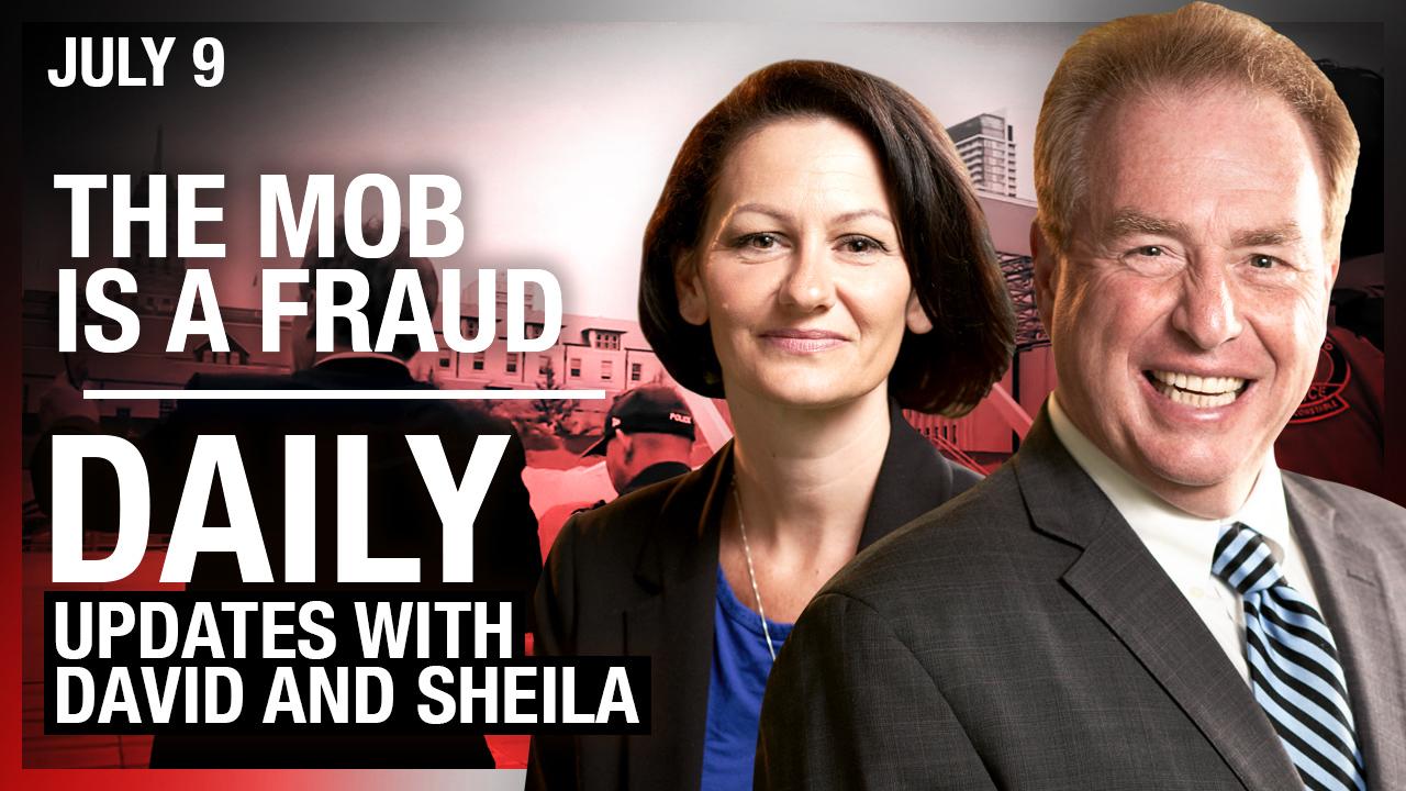 LIVE ON YOUTUBE! David and Sheila talk Toronto's Antifa tent city