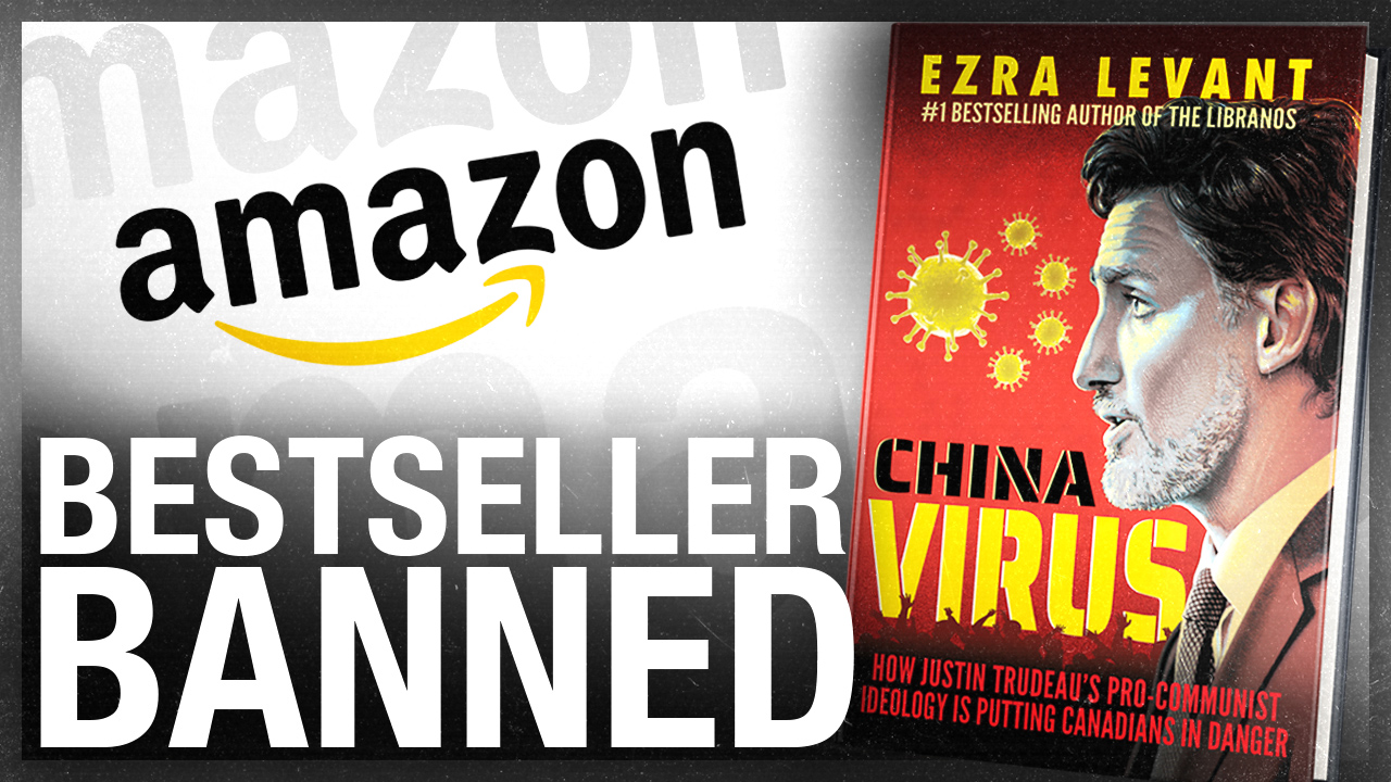 Amazon banned China Virus so we're printing it ourselves