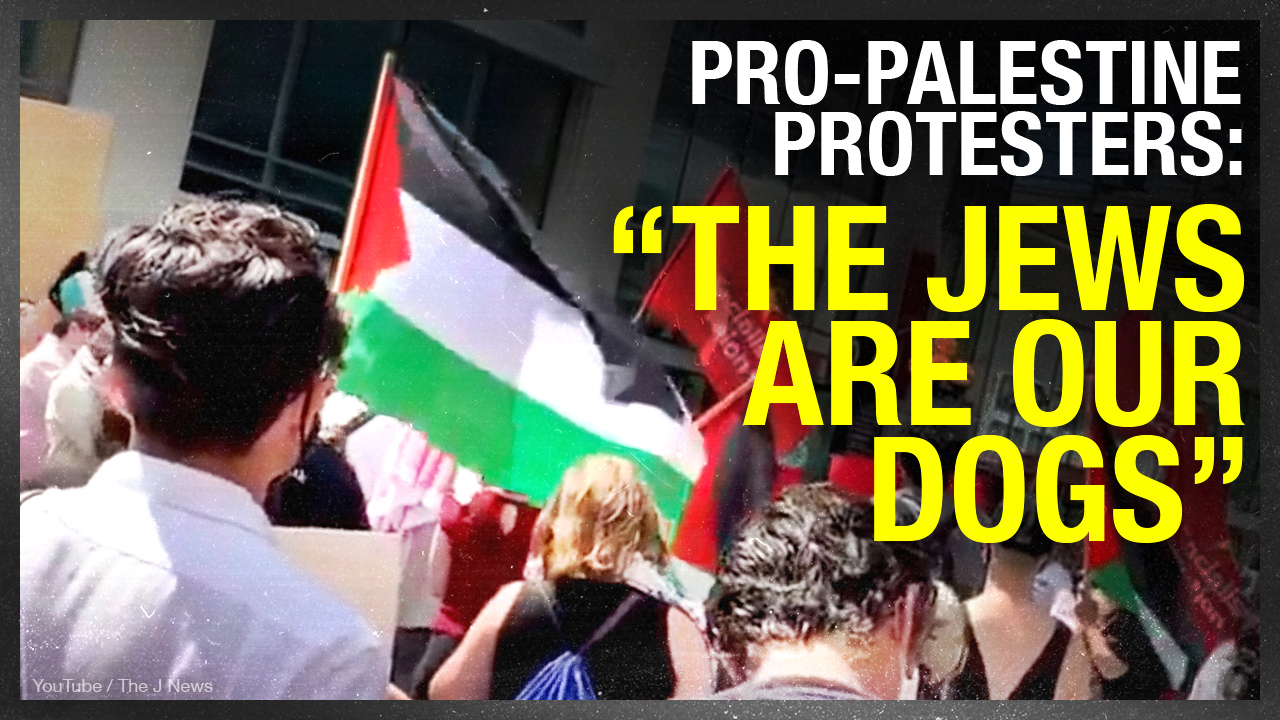 """The Jews are our dogs"": Day of Rage rallies were displays of Muslim anti-Semitism"