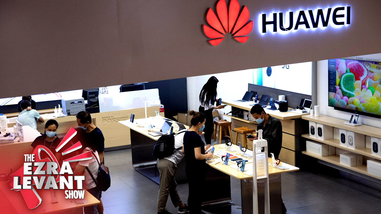 The UK bans Huawei from their 5G networks. Why is Trudeau standing with China against our allies?
