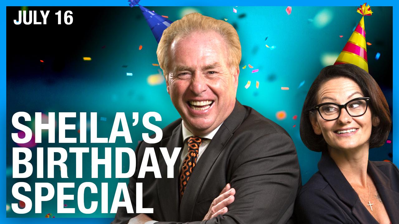 Sheila Gunn Reid's special BIRTHDAY livestream with David Menzies