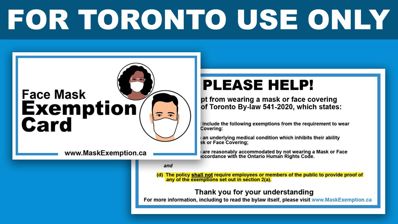 Mask Exemption Donation