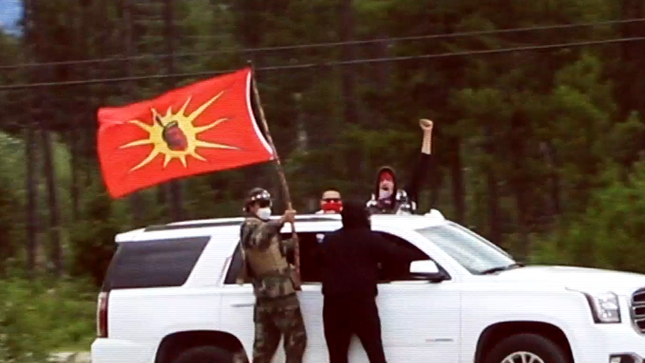 Eco Extremists Overrun Blue River British Columbia Rcmp Abandon Duty As Town Counter Protests Rebel News