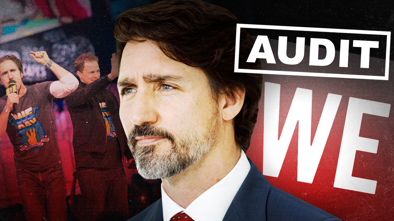#AuditWE: We've hired lawyers to demand that Trudeau's WE Charity be audited