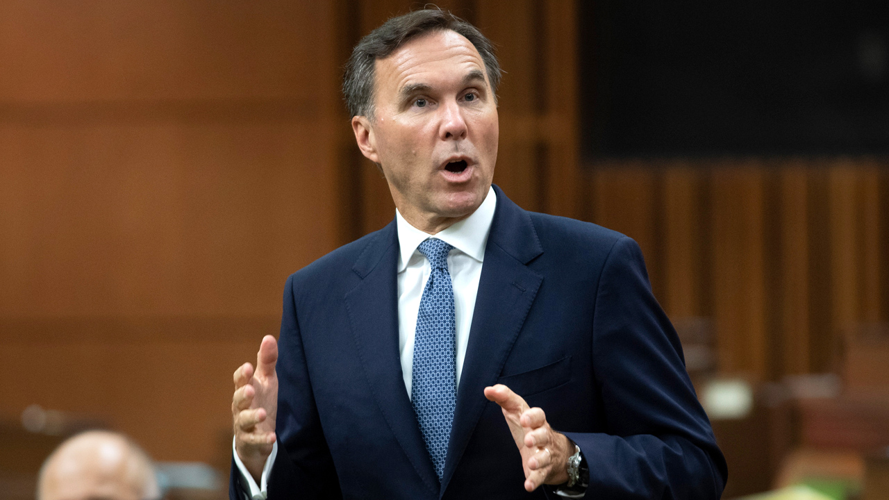 Liberal MP: Support Morneau, or get kicked out of caucus