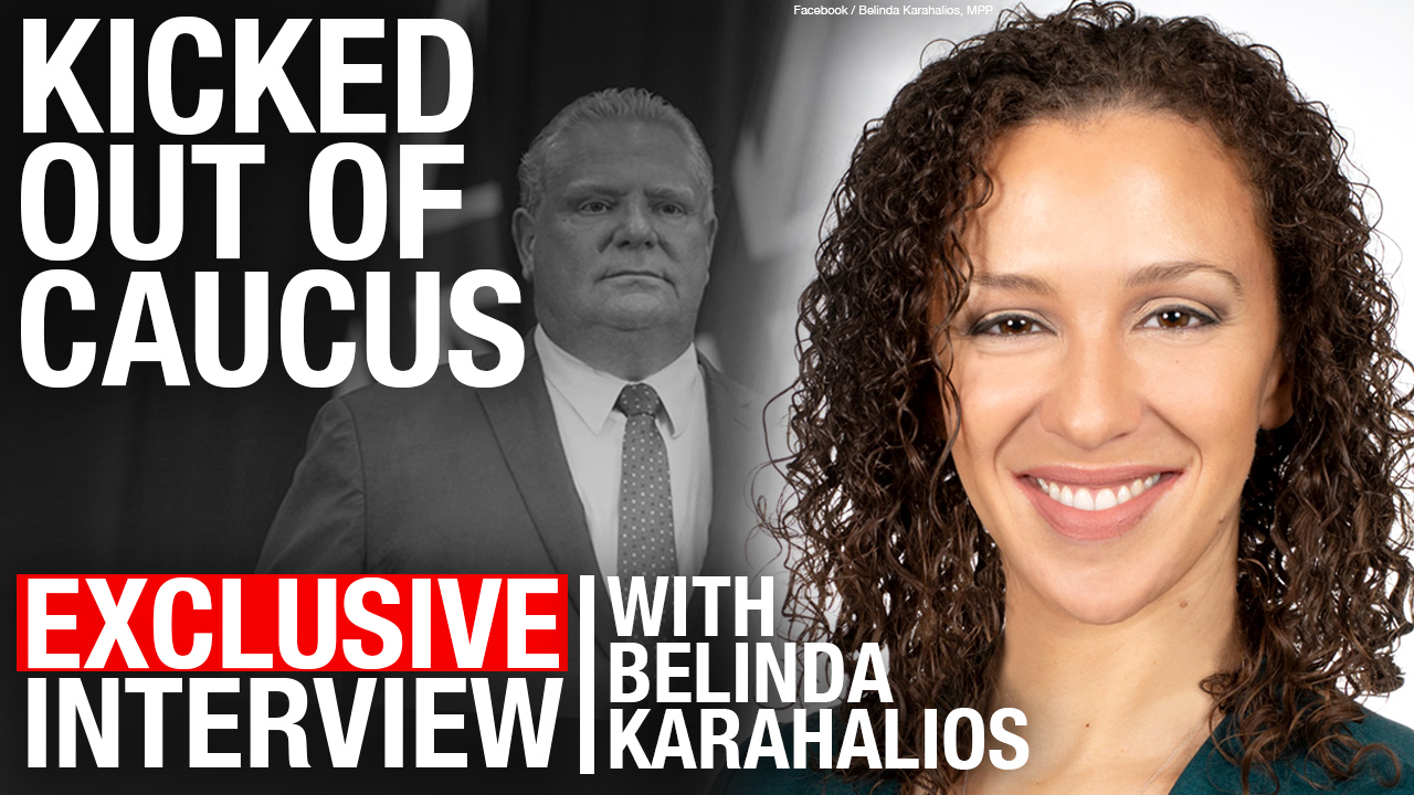 Kicked out of Ford's PCs: Belinda Karahalios ejected for voting against COVID-19 emergency powers