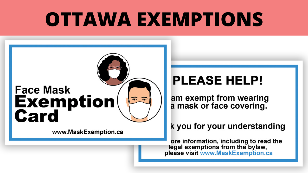 Ottawa Mask Exemption
