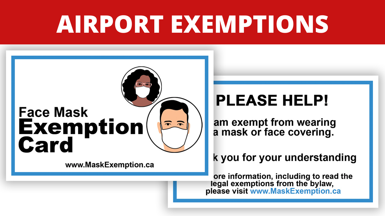 Airport Mask Exemption