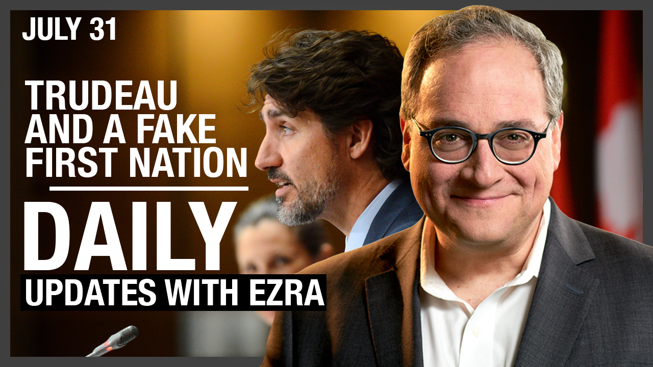 LIVESTREAM: Trudeau and a Fake First Nation