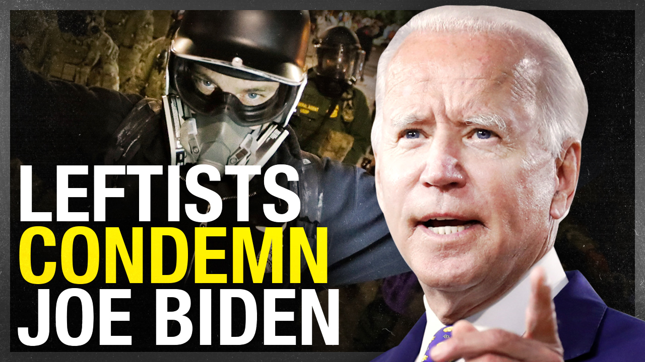 Democrats and leftists triggered by Joe Biden condemning anarchists, arsonists