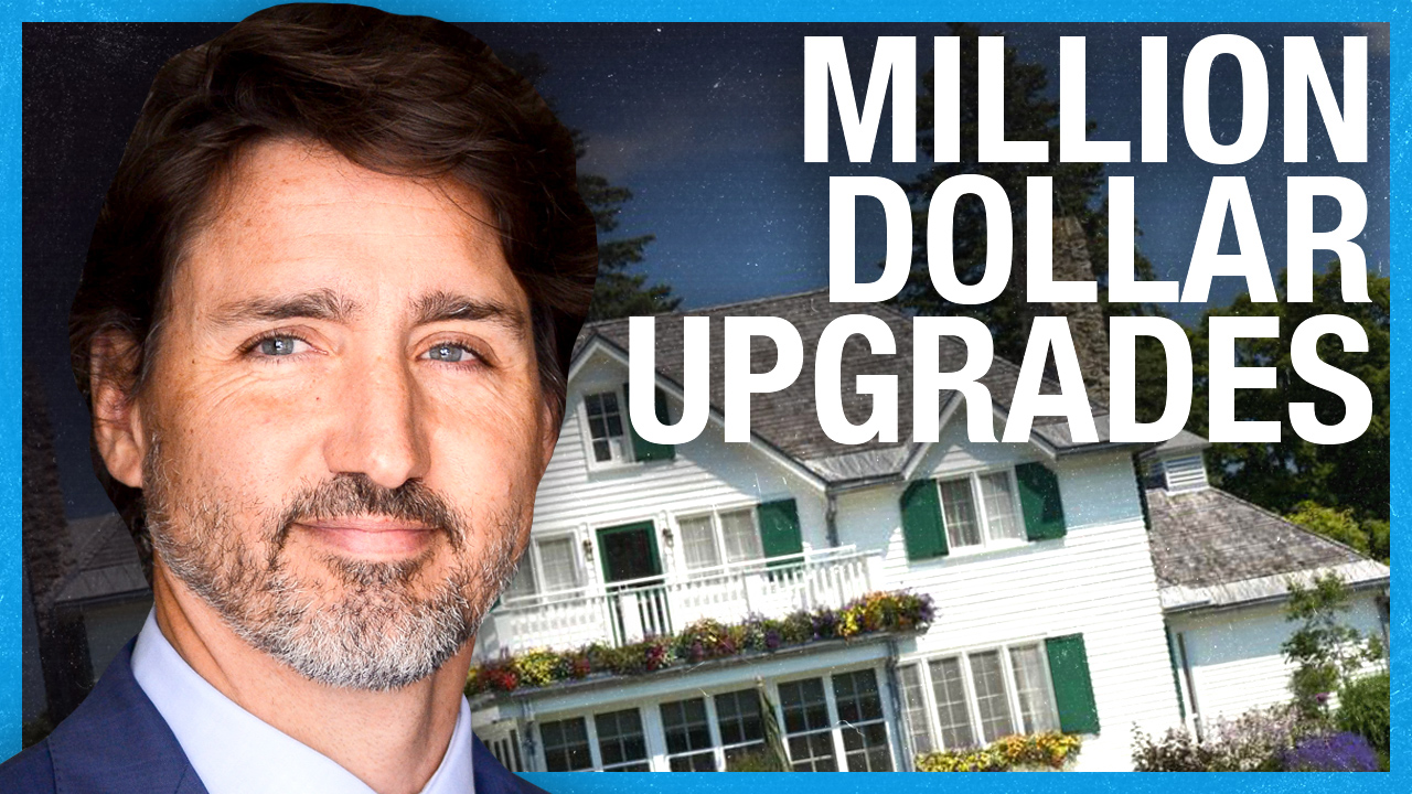 Trudeau's multi-million dollar luxury cottage upgrades (at your expense)