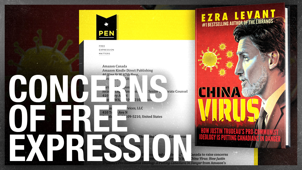 PEN Canada to Amazon: Transparency on 'China Virus' censorship, please!