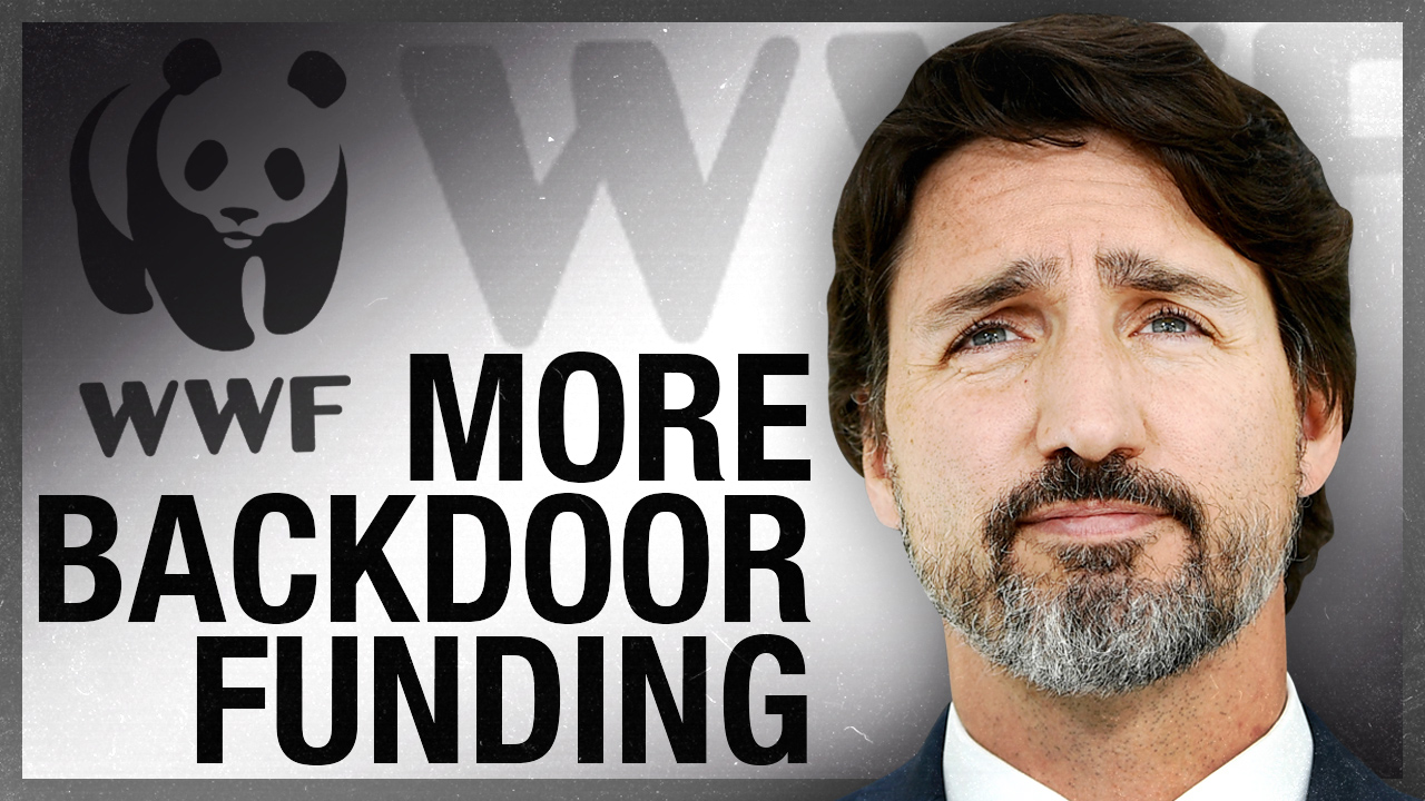 Trudeau's WWF money funneling puts direct pressure on Canada's oil and gas industry