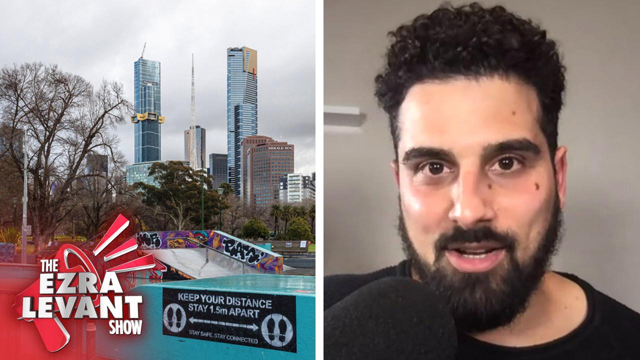 Life under Melbourne, Australia's lockdown, now featuring a curfew | Avi Yemini with Ezra Levant