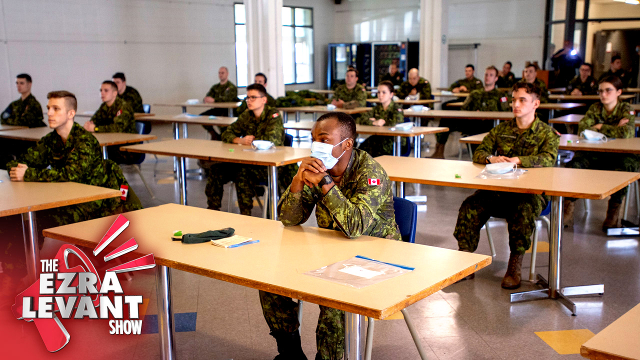 "Canadian Forces prepared anti-""Civil Disobedience"" coronavirus campaign"