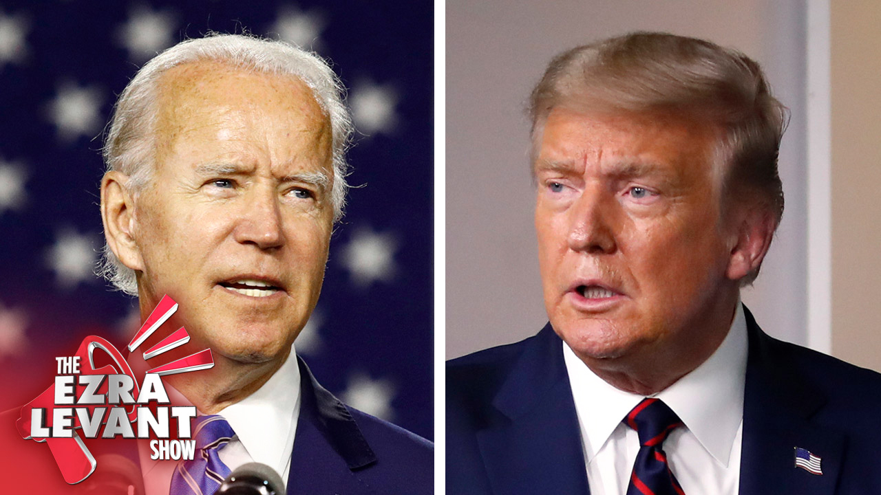 The media says that Trump has lost his mind. But what about Joe Biden?