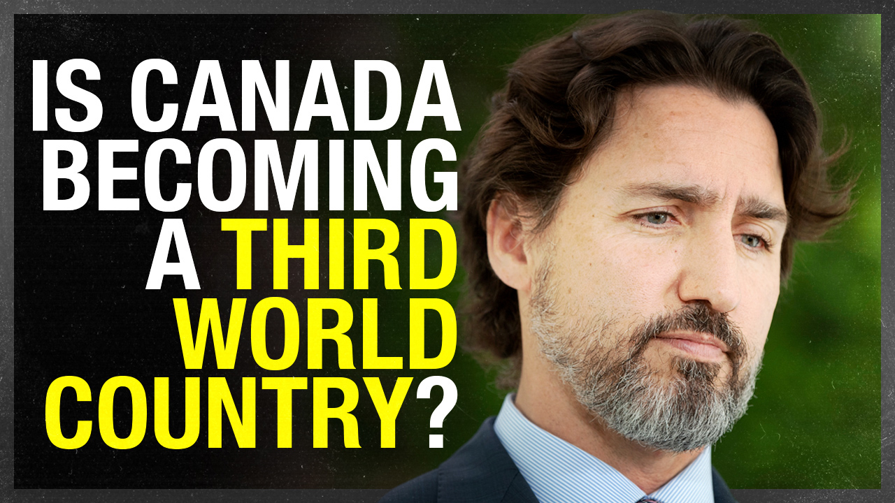 Is Canada on its way to becoming a Third World country?