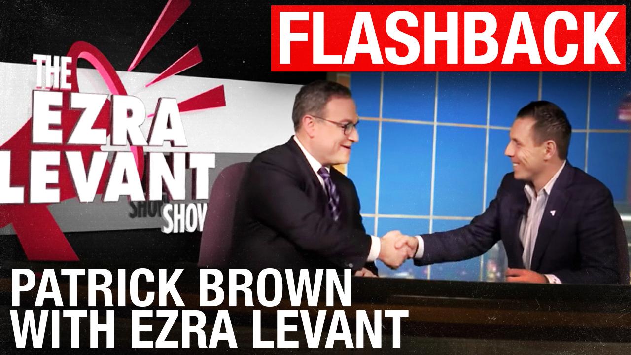 FLASHBACK 2015: Ezra Levant interviews Patrick Brown