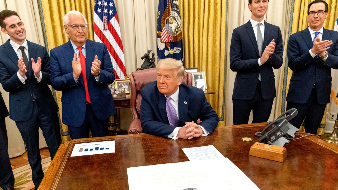 Trump announces UAE-Israel Peace Agreement