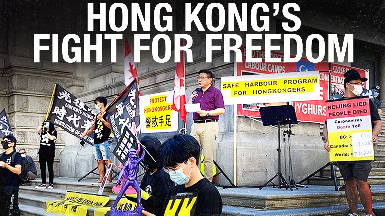 Hong Kong falling to communist China: MP Kenny Chiu on why freedom-loving Canadians must act now