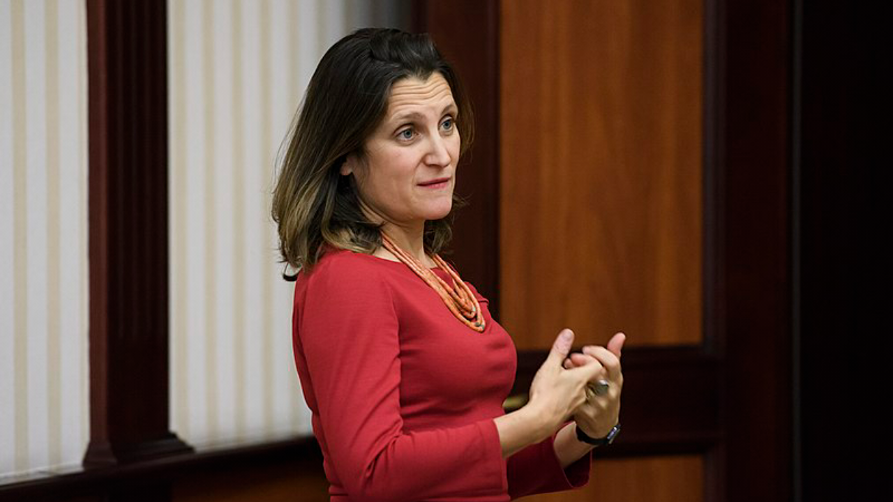 BREAKING: Chrystia Freeland will be Canada's next finance minister