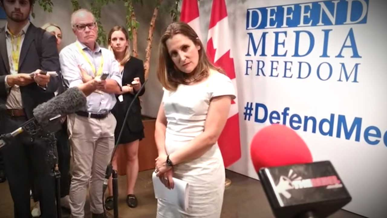 """Why Chrystia Freeland """"should be careful about tossing around the phrase 'white supremacy'"""""""