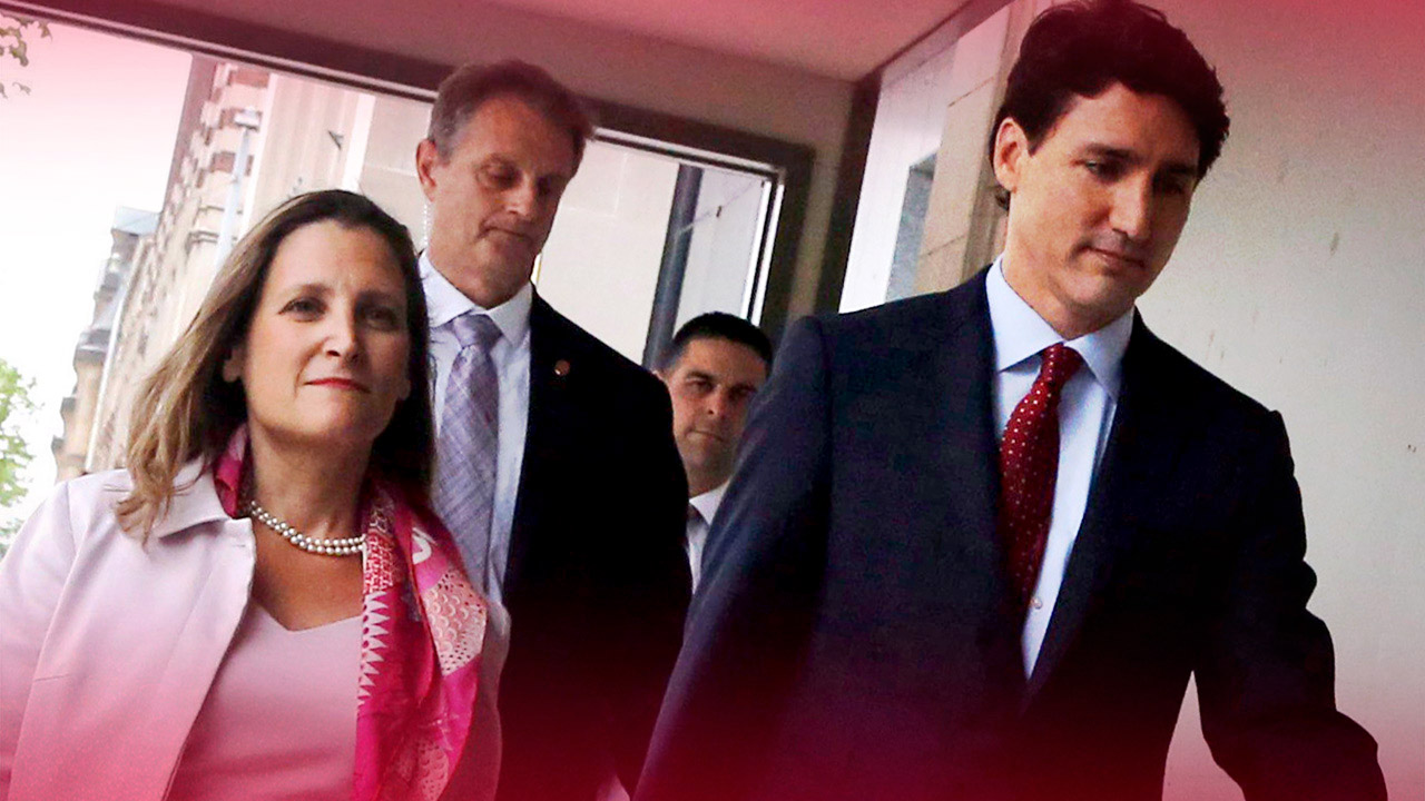Chrystia Freeland ditches NAFTA negotiations to attend anti-Trump conference