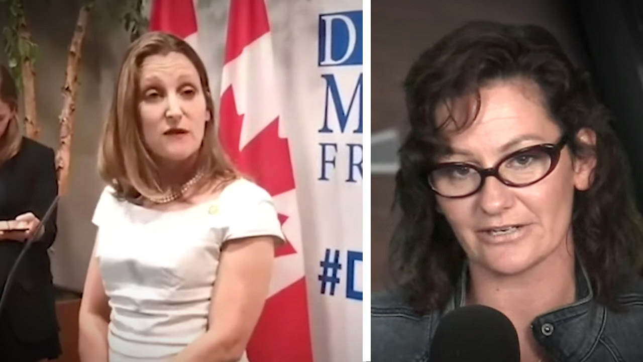 Freeland: Yes to Soros and Unifor, NO to Russians at Media Freedom Conference!