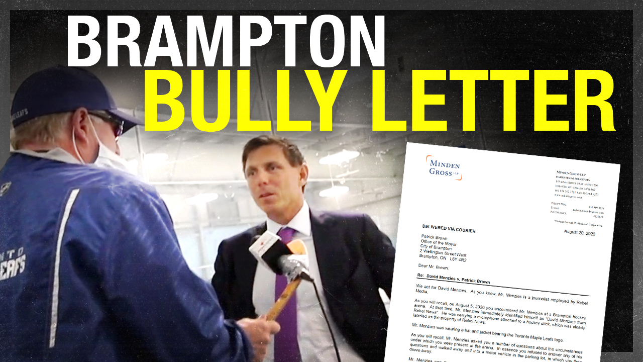 Dear Patrick Brown: Apologize for your defamatory statements (or we're going to court)